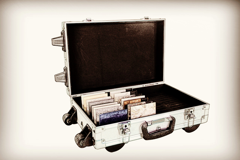 Sample Boxes/Suitcases