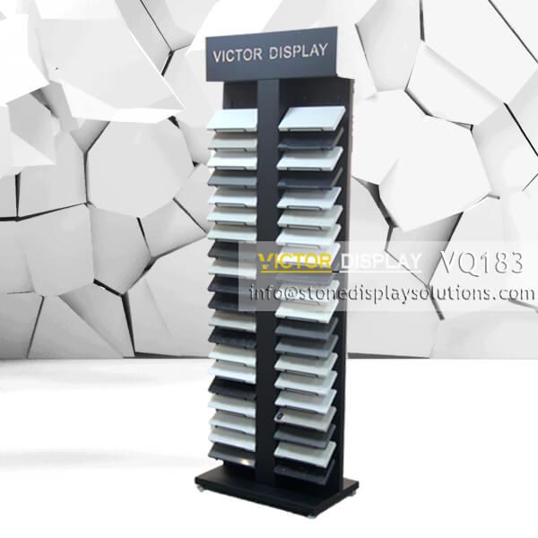 VQ183 Display Shelves for stone showroom (1)