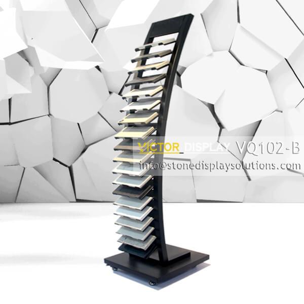 VQ102-B VQ102-B Granite Tiles Display Tower (1)