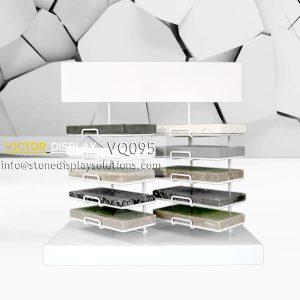 VQ095 Marble Tile Samples Rack