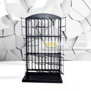 VC002 Powder Coated Black Tiles Showroom Display (2)