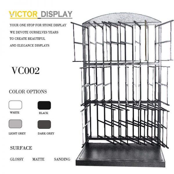 VC002 Powder Coated Black Tiles Showroom Display (4)