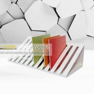 New Design Ceramic Tile Showing Rack