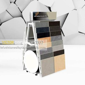 Wall Ceramic Tile Display Cradle