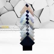 VC010 Waterfall Porcelain Tile Rack