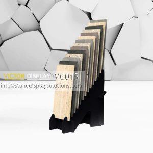 VC013 Stone Slab Tiles Display Stand Rack
