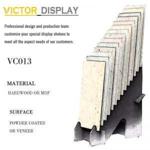 VC013 Stone Slab Tiles Display Stand Rack