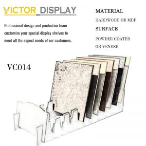 VC014 Loose Ceramic Tiles Showroom Display Racks