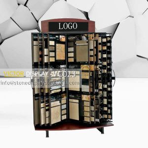 VC023 Wing Display Style Ceramic Tile Stand
