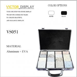 Stone Sample Display Case Box
