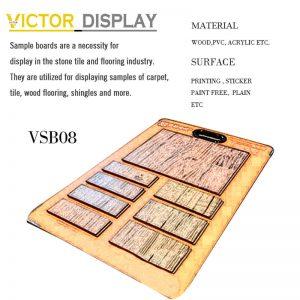 Wood Flooring Tile Sample Board