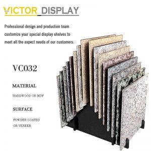 VC032 wood flooring tiles display rack