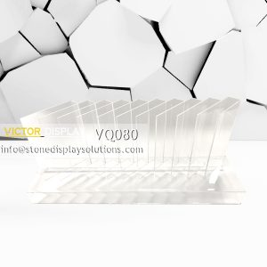 VQ080 Acrylic Counter Top Display