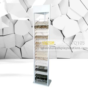 VQ105 quartz marble granite floor display