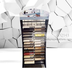 VQ141 LVT Wood Flooring Display Rack