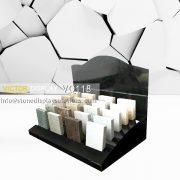 Black Acrylic Stone Countertop Display