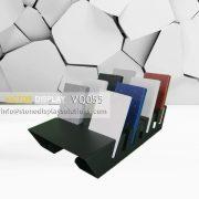 VQ055 High-grade stone countertops display rack