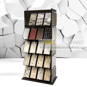 VM007 mosaic tile showroom display cabinet