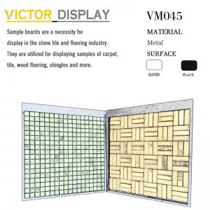 VM045 Plastic display boards for mosaic tiles