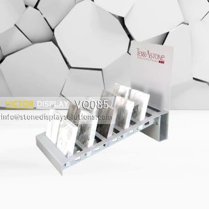 VQ085 Granite Tile Display Rack