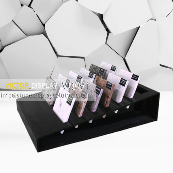 Acrylic Display Rack for Stone Samples