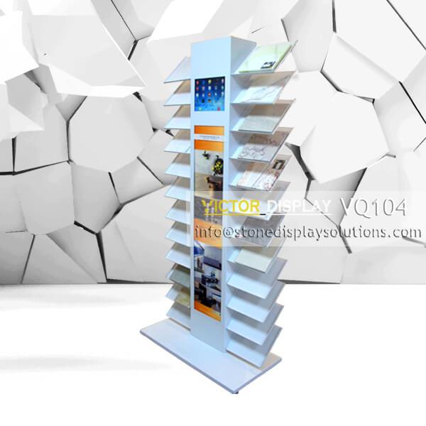granite tiles display shelve VQ104(1)