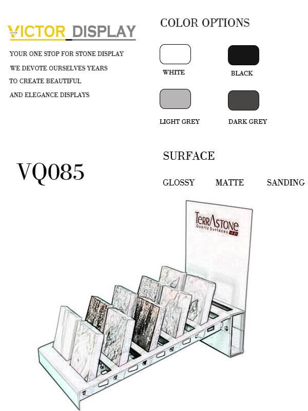 VQ085 Granite Tile Display Rack