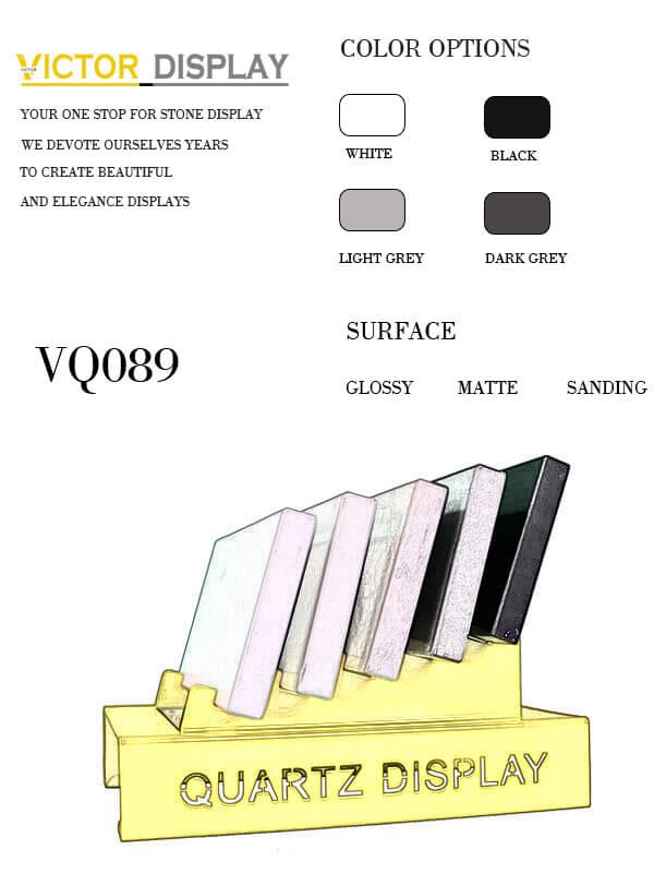 VQ089 Quartz Countertop Tiles Display Rack