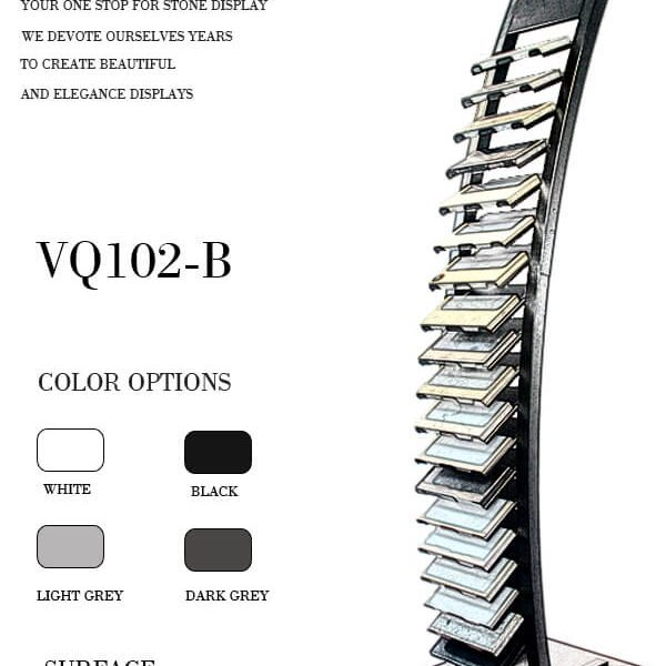 Metal Display Stand for Stone VQ102-B (1)
