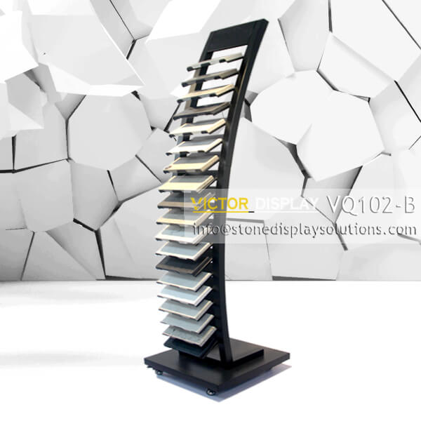 VQ102-B VQ102-B Granite Tiles Display Tower (1)