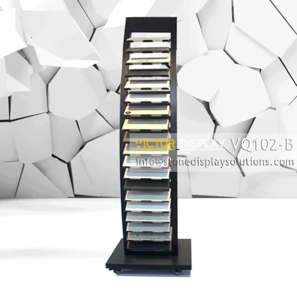 VQ102-B Granite Tiles Display Tower