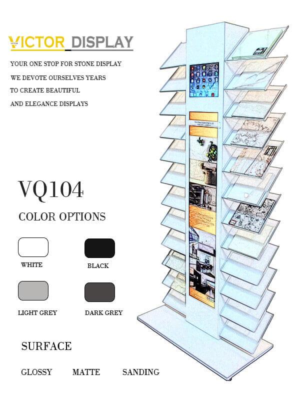 Granite Tiles Display Shelves
