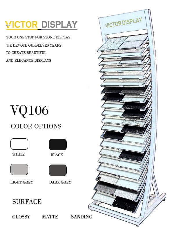 VQ106 Stone Tiles Display Rack