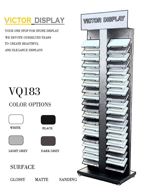 VQ183 Display Shelves for stone showroom