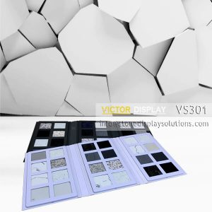 VS301 ABS Plastic Sample Binder