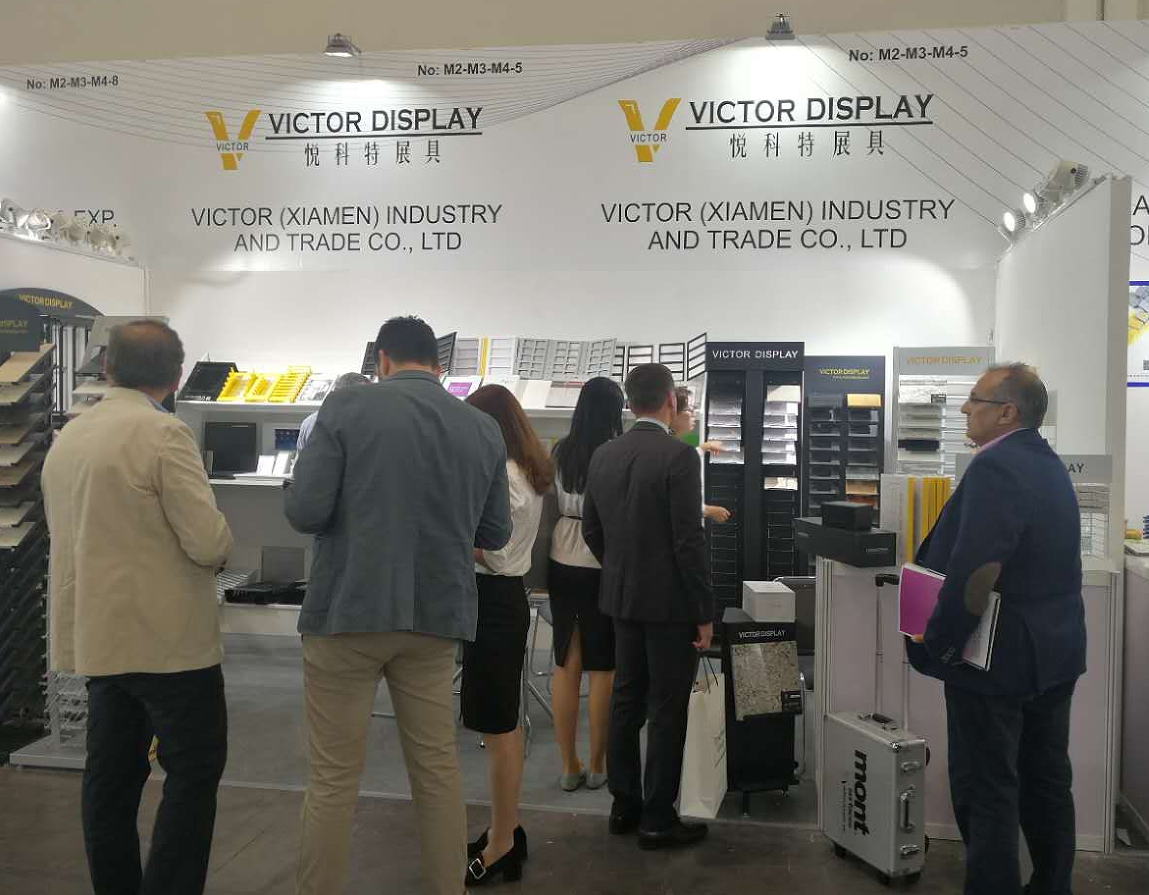 Victor Display in Marmomacc