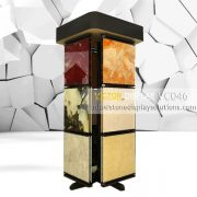 VC046 Rotating Display Rack for Stone Tile Samples