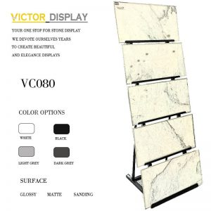 VC080 Floor and Tile Display Rack