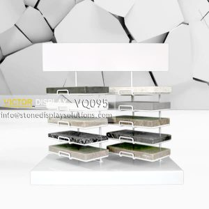 VQ095 Marble Tile Samples Rack