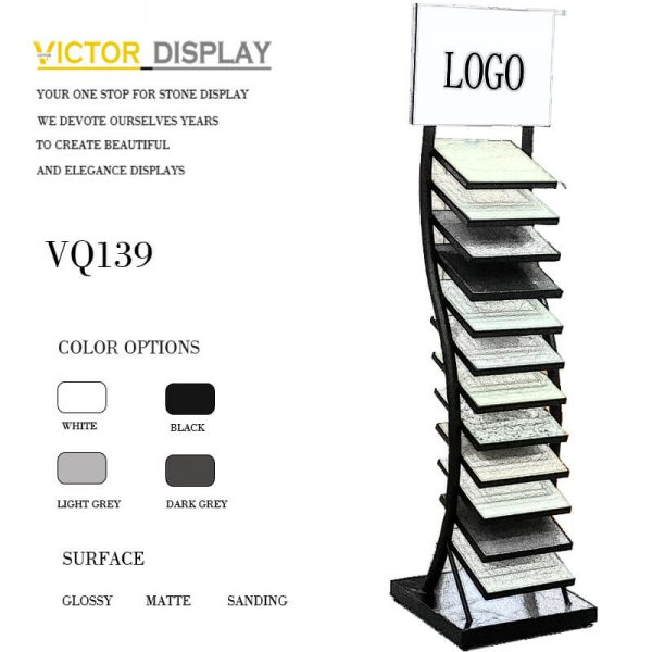 VQ139 Quartz Tiles Display Stand (2)