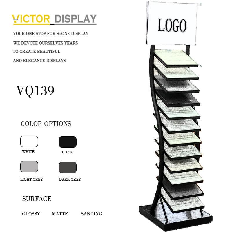 VQ139 Quartz Tiles Display Stand