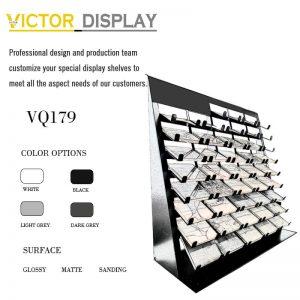 VQ179 Quartz Countertop Colors Display Rack