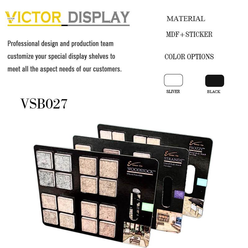 VSB027 Flooring Tile Swatch Board