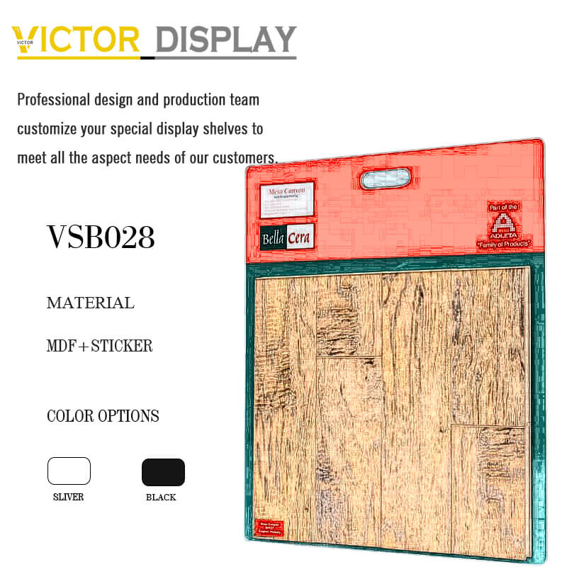 VSB028 Wood Flooring Sample Board Holder
