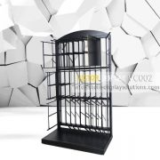 VC002 Powder Coated Black Tiles Showroom Display