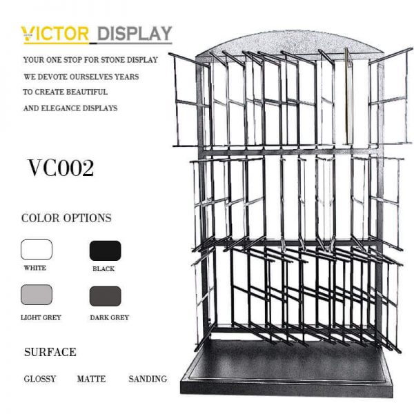 VC002 Powder Coated Black Tiles Showroom Display (4)