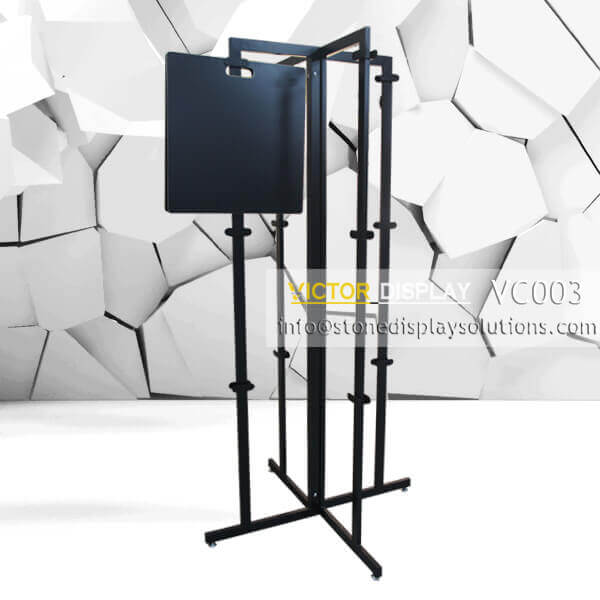 VC003 Tiles Display Showroom Stand Rack (2)