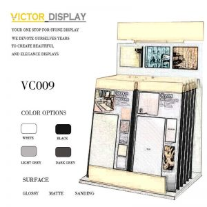 VC009 Stone Tile Sample Rack