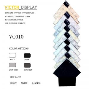VC010 Waterfall Porcelain Tile Rack