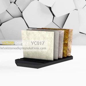 MDF Display Base with slots to display ceramic tiles